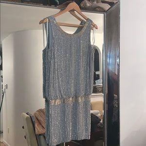 Adrianna Papell beaded Cocktail dress sz 12p